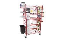 INNOVATIVE PAINT PREP CART W/MASKER