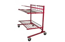 INNOVATIVE PARTS CART A (2 SHELVES)